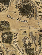 Adventures in the East Mark - East Mark Area Map