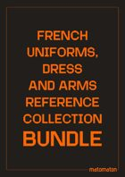 France Uniforms, Dress & Arms Reference Collections [BUNDLE]