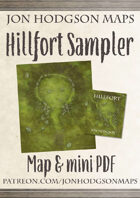 Jon Hodgson Maps Sampler - Hillfort