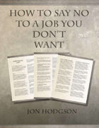 How to Say No To A Job You Don't Want