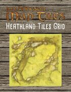 Jon Hodgson Map Tiles - Heathland Tiles With Grid