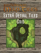 Jon Hodgson Map Tiles - Extra Detail Map Tiles with Grid
