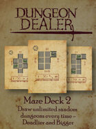 Dungeon Dealer Maze Deck 2