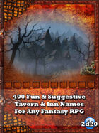 400 Fun & Suggestive Tavern & Inn Names For Any Fantasy RPG