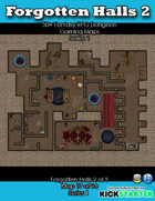 50+ Fantasy RPG Maps 1: (17 of 94) Forgotten Halls 2