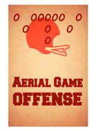 Football Strategy Offensive and Defensive Replacement Cards