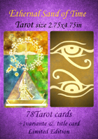 Ethernal Sand of Time Egypt Tarot size