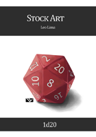 Stock Art: Dice, D20