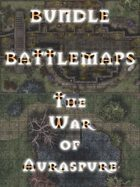 Battlemaps - The War of Auraspure [BUNDLE]