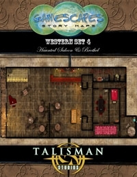 Gamescapes: Story Maps, Western Set 4