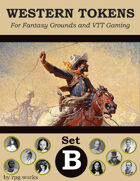 Western Tokens - Set B