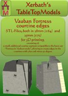 Vauban Fortress Courtine 60 edges