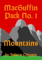 MacGuffin Pack 1 - Mountains