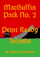 MacGuffin Pack 2 - A4 Cutup Maps