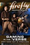 Gaming in the 'Verse: a Firefly RPG Preview Pre-Order