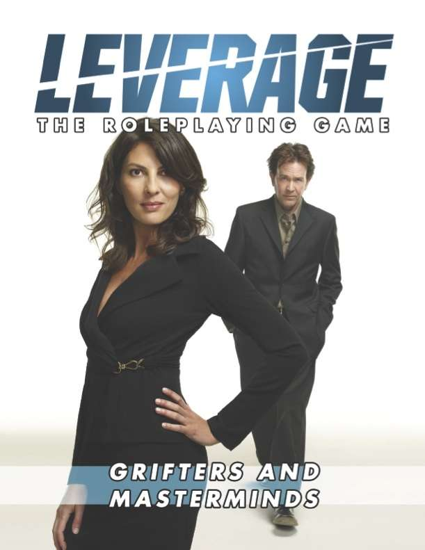 Leverage: Grifters & Masterminds on DriveThruRPG.com