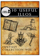 10 useful illos - Fantasy collection vol. 3