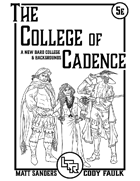 The College of Cadence - A 5th Edition Bard College
