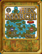 Hex March Volume 1: World Map Builder