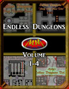 Endless Dungeons: Volume 1-4 Bundle