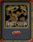 Map-A-Day 10/20/2017 Twisted Cavern
