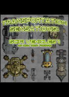 Smokin' Tokens: Scifi Vehicles
