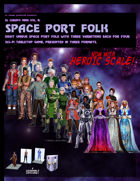 El Cheapo Minis Vol. 8 Space Port Folk