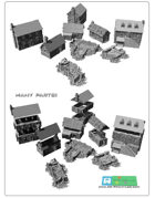 Middle age buildings SET (STL Files)