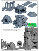 Dwarfen Scenery SET (STL Files)