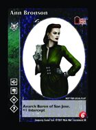 Ann Bronson - Custom Card