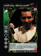 Antonio Abravanel - Custom Card