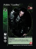 "Pablo ""caolho"" - Custom Card"