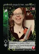 Julie Anne Ragazzo (adv. Lizzy Bean ) - Custom Card