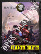 Battlelords of the 23rd Century, 7th Edition - OPEN PLAYTEST - V2 - CHARACTER GENERATION & SKILLS RULES ONLY