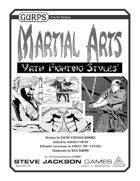 GURPS Martial Arts: Yrth Fighting Styles