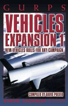 GURPS Classic: Vehicles Expansion 1