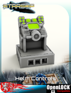 Starship Bridge Helm Controls