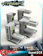 Starship II Medical Beds