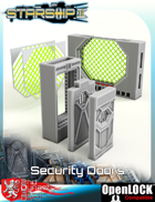 Starship II Security Doors