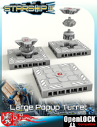 Starship II Large Popup Turret