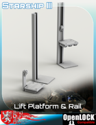 Lift Platform and Rail