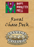 Savage Worlds Rural Chase Deck