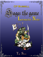 Saga: the Game Loremaster Notes ptb