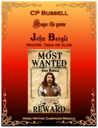 John Bargle, Wanted Dead or Alive