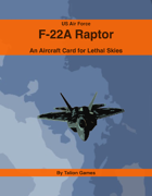 US Air Force F-22A Raptor
