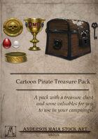 Cartoon Pirate Treasure Pack