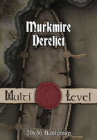 30x20 Multi-Level Battlemap - Murkmire Derelict