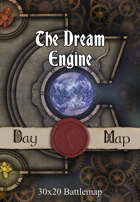 30x20 Battlemap - The Dream Engine