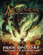 ATLANTIS: the Second Age Quickstart Rules