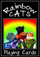 Rainbow Cats Playing Cards